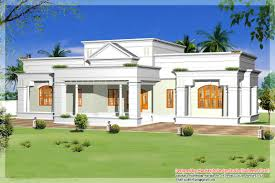 Single Storey Home Designs Floor House Kerala House Plans