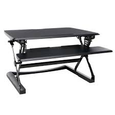 Sit And Stand Desk by Sit To Stand Desk Riser Black
