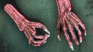 Anatomy Halloween Costumes Devil Gloves Halloween Costume Hands Zagone Studios