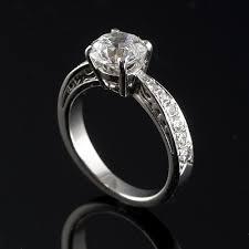 filigree engagement ring white gold filigree gallery engagement ring