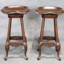 furniture great rustic look and feel tractor seat bar stools