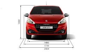peugeot partner dimensions peugeot 208gti u201c techninė informacija ir charakteristikos