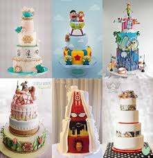 character movie themed wedding cakes the wedding community blog