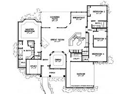 floor plans with great rooms eplans new american house plan four bedroom new american 2500