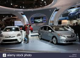toyota car showroom toyota prius electric hybrid car cars showroom stock photo 43540595