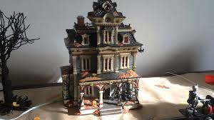 department 56 snow village halloween department 56 grimsly manor soundtrack youtube