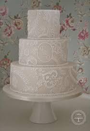 wedding cake lace wedding cakes paisley lace wedding cake 1972155 weddbook