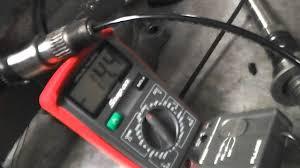 pv350 fluke and snap on meter vac testing honda shift youtube