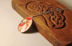 guirlande lumineuse papier japonais collier en papier japonais sarigami sarigami