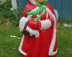 Blow Mold Christmas Yard Decorations Christmas Blow Mold Etsy