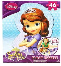 amazon disney princess sofia 46 piece shaped floor