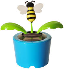 Desk Plant Amazon Com Solar Power Desk Accessory Dancing Insect Flower