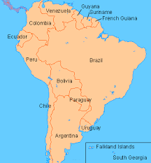 south america map bolivia world stadiums stadiums in south america