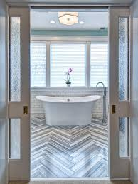 glass door in bathroom photo page hgtv