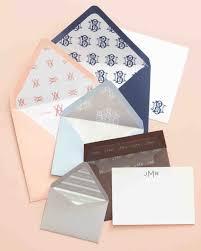 How To Fold Envelope Wedding Invitation Envelope Liner How To Martha Stewart Weddings