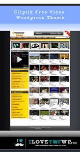 love themes video cliptik video portal magazine free wordpress theme iloveyouwp