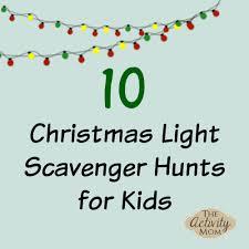 thanksgiving treasure hunt christmas light scavenger hunt for kids