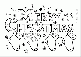 brilliant merry christmas coloring pages printable merry