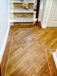wood flooring with inlay brown borders wood floors