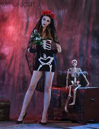 Dead Prom Queen Halloween Costume Cheap Skeleton Zombie Costume Aliexpress Alibaba