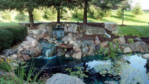 water features michigan backyard ponds waterfalls fountains