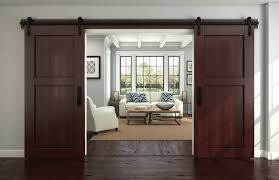 home design interior design with new sliding barn door and dark