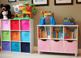 best toy storage ideas that kids will love classic cube shelves