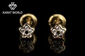 baby earrings philippines 50 karat world s yellow gold earrings promo
