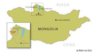 Mongolia Map Dukha Reindeer Herders Of Mongolia A People Caught Between Two