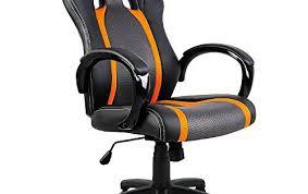 fauteuil de bureau sport chaise de bureau sport fauteuil siege baquet grise orange
