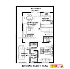 Home Design Plans 30 60 Home Design House Plan For Feet By Feet Plot Plot Size Square