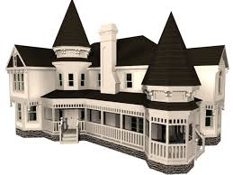 Victorian House 3d Model 3dsmax Files Free Download Modeling 3d House Building Free