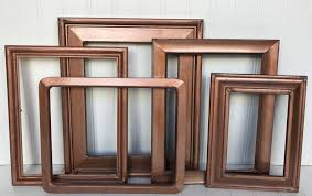Gallery Wall Frames by Wood Gallery Wall Frame Collage Bronze Frames Gallery Wall