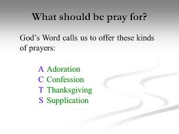 christian prayer ppt