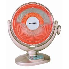 oscillating fan and heater optimus 14 oscillating dish heater with remote control heop4438