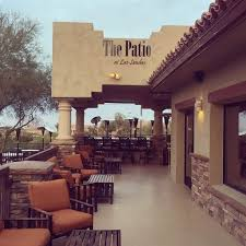 The Patio Resturant The Patio At Las Sendas Restaurant Mesa Az Opentable