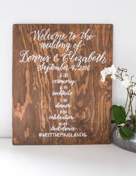 wedding signing board calligraphy tip working on wood boards hooper calligraphy