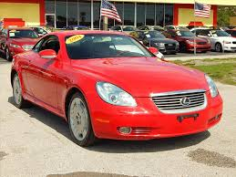 lexus convertible used houston red lexus sc for sale used cars on buysellsearch