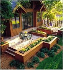 Modern Back Yard Backyards Stupendous Backyard Garden Bed Ideas Backyard Ideas