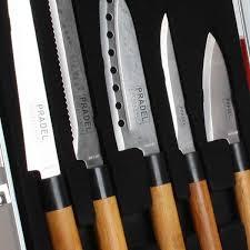 malette de couteaux de cuisine pas cher mallette pradel excellence 5 couteaux de cuisine japonais