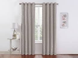 Sparkle Window Curtains by 2 Pack Vcny Home Metallic Sparkle Thermal Blackout Curtains