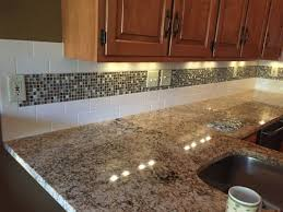 Tile Backsplash Kitchen Pictures Kitchen Kitchen Subway Tile Backsplash With Mosaic Deco Band