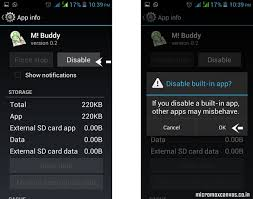 uninstall preinstalled apps android how to remove pre installed apps from micromax android phone