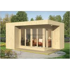 chalet bureau bureau de jardin a toit plat abri de jardin helin 16m2