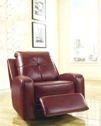Swivel Glider Chair With Ottoman House Furniture Amazing Furniture Chocolate Leather Swivel