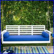 wood porch swing patio sofa couch deck bed seat cushion pad