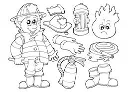 tool coloring pages firefighter 46 jobs u2013 printable coloring pages
