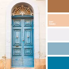 blue and light blue color palette ideas