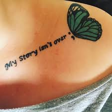 25 beautiful collarbone quote tattoos ideas on pinterest