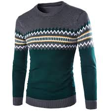 mens sweaters mens sweaters knitted fabric collar style pullover sweater